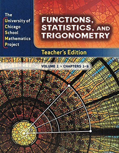 UCSMP Functions, Statistics, and Trigonometry, 2-Volume Teacher's Edition