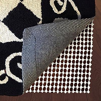 Non Slip Rug Pad 3 x 5 - For Hardwood Floors, Carpet, and Rugs by bogo Brands