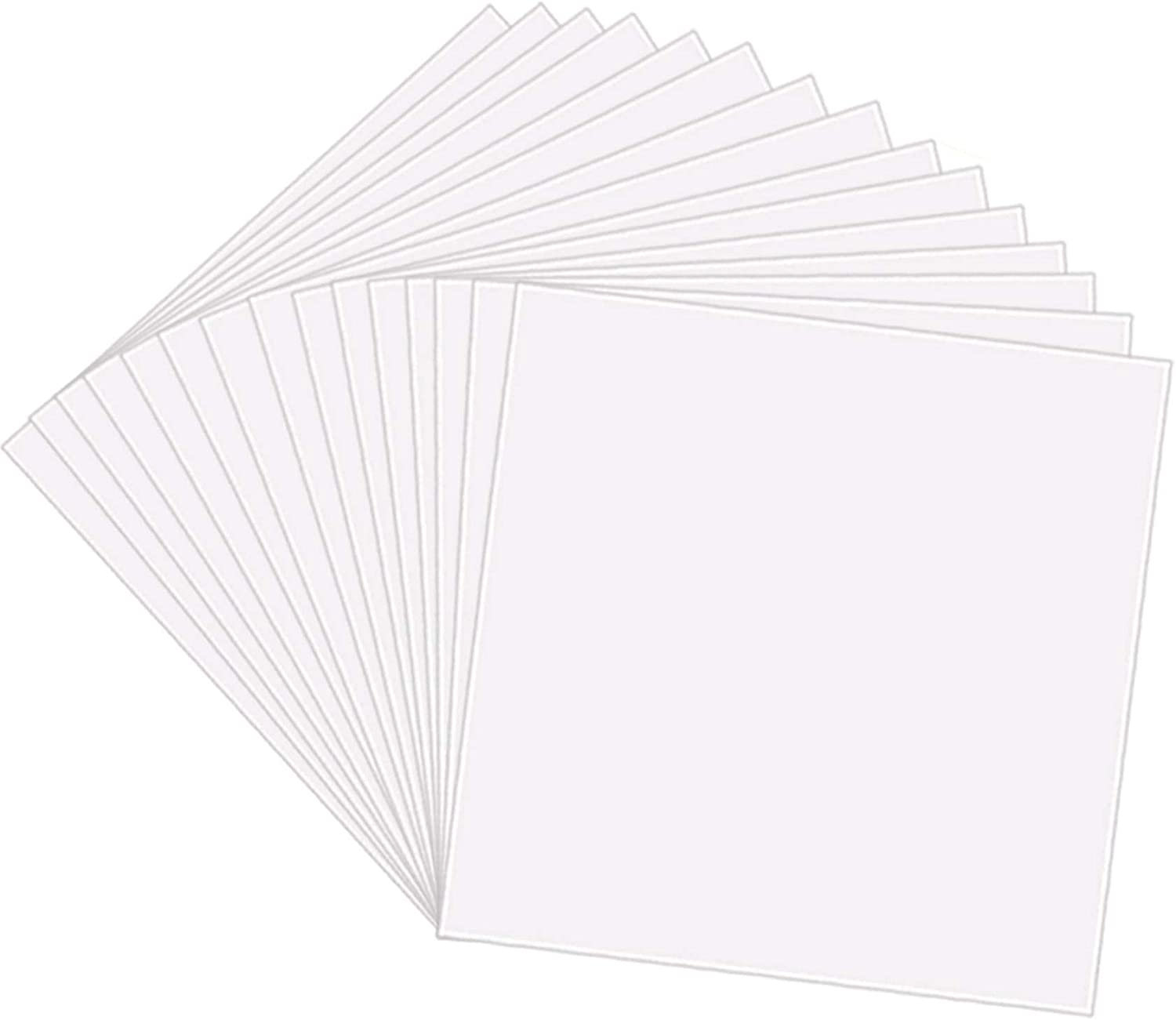 Vertically aligned 50  Stars Craft Stencil 7 mil Reusable Clear Mylar