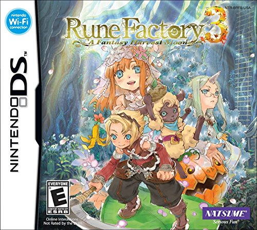 Rune Factory 3: A Fantasy Harvest Moon by Natsume