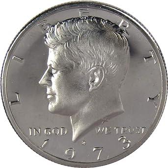 1973-P  BU Mint State Kennedy US Half Dollar coin