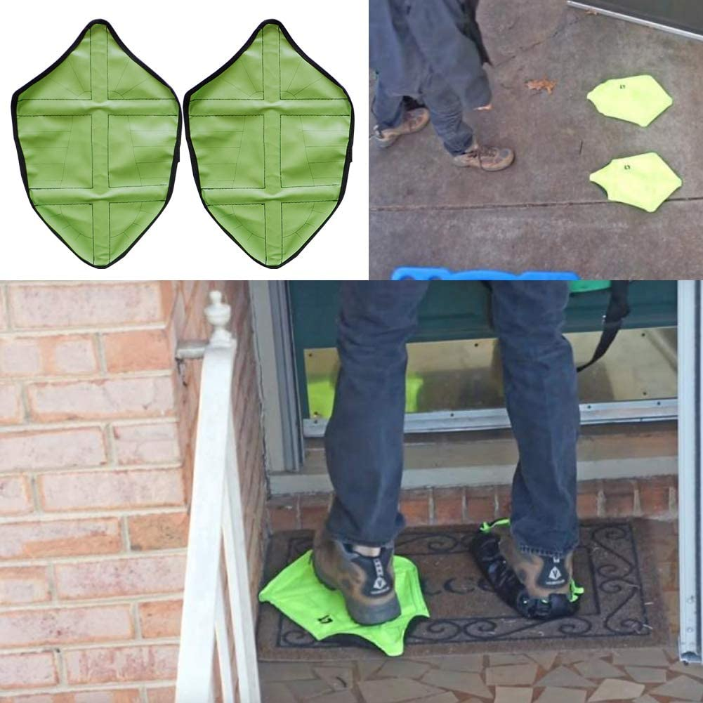 YaptheS Schritt in Socken /Überschuhe Hand Freie Resuable /Überschuhe Schuh-Schutz f/ür Heimarbeiter 1Pair