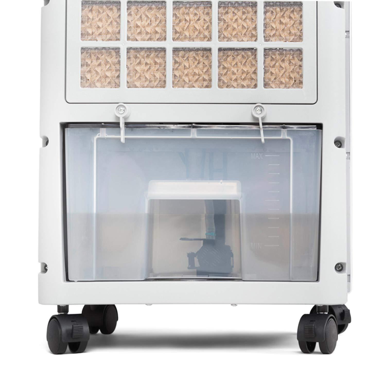 Novohogar Acondicionador de Aire Frío Calor Portátil 4 en 1 Potente. Refrigerador, Calefactor, Humidificador y Purificador - Esterilizador de Aire. 3 ...