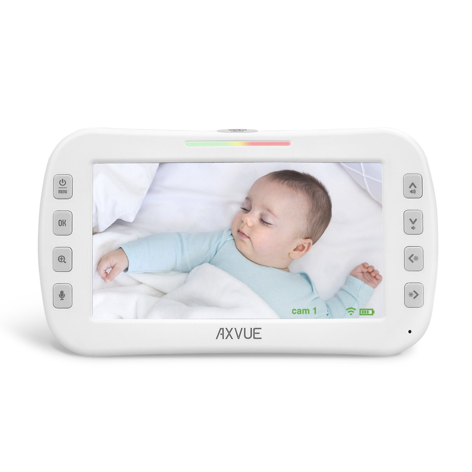 Additional Monitor for AXVUE Video Baby Monitor E632R by Axvue
