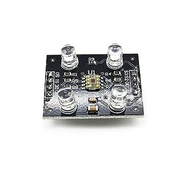 greatwell TCS230 TCS3200 Color reconocimiento Sensor Detector módulo para MCU Arduino: Amazon.es: Electrónica