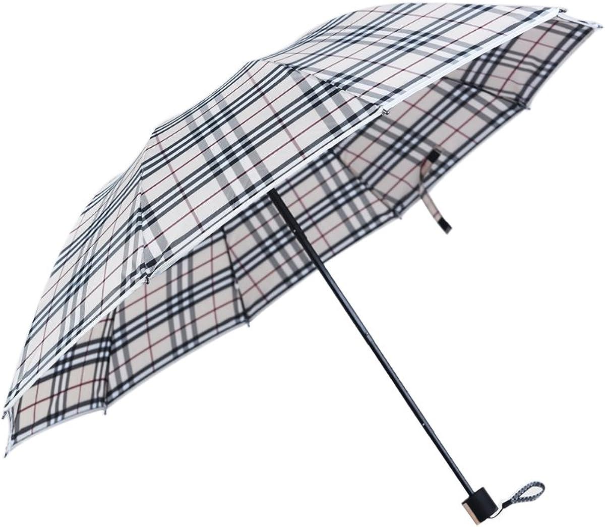 Waterproof and Windproof Multi-Purpose 3 Folding Umbrella Double layer UV Protection