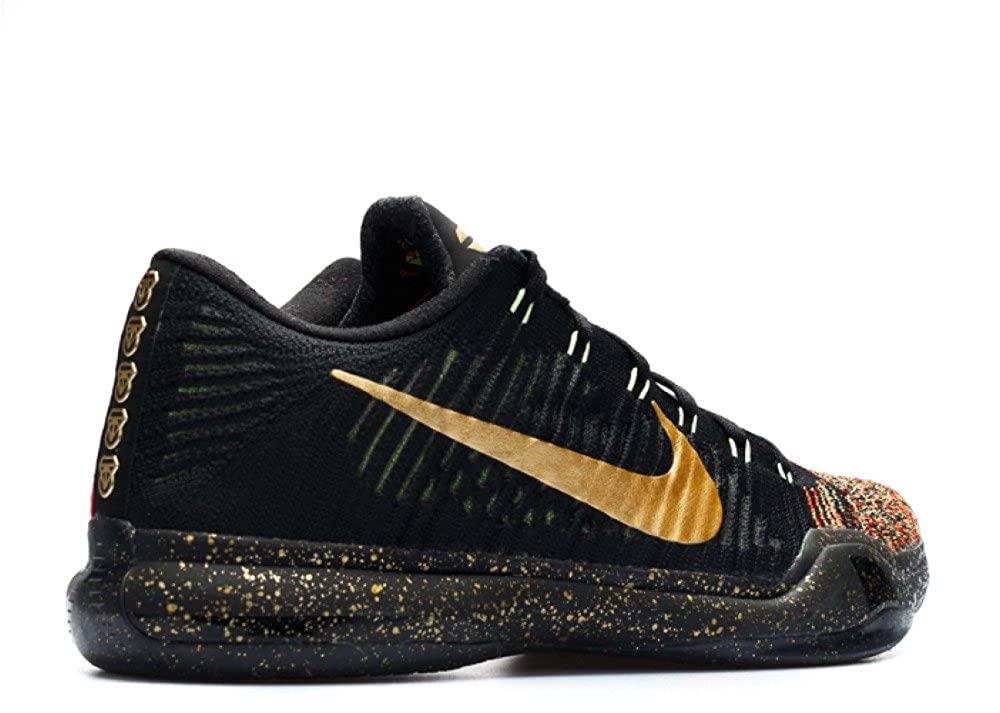 pretty nice fd56c 6044f Amazon.com   Nike Kobe X Elite Low Xmas 802560-076 Black Crimson Gold Men s  Basketball Shoes   Basketball