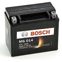Bosch M6014 Batería motocicleta YTX12-BS - 12 V AGM 10A/h-90A