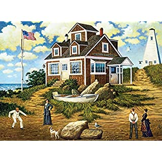 Buffalo Games - Charles Wysocki - A Delightful Day on Sparkhawk Island - 1000 Piece Jigsaw Puzzle