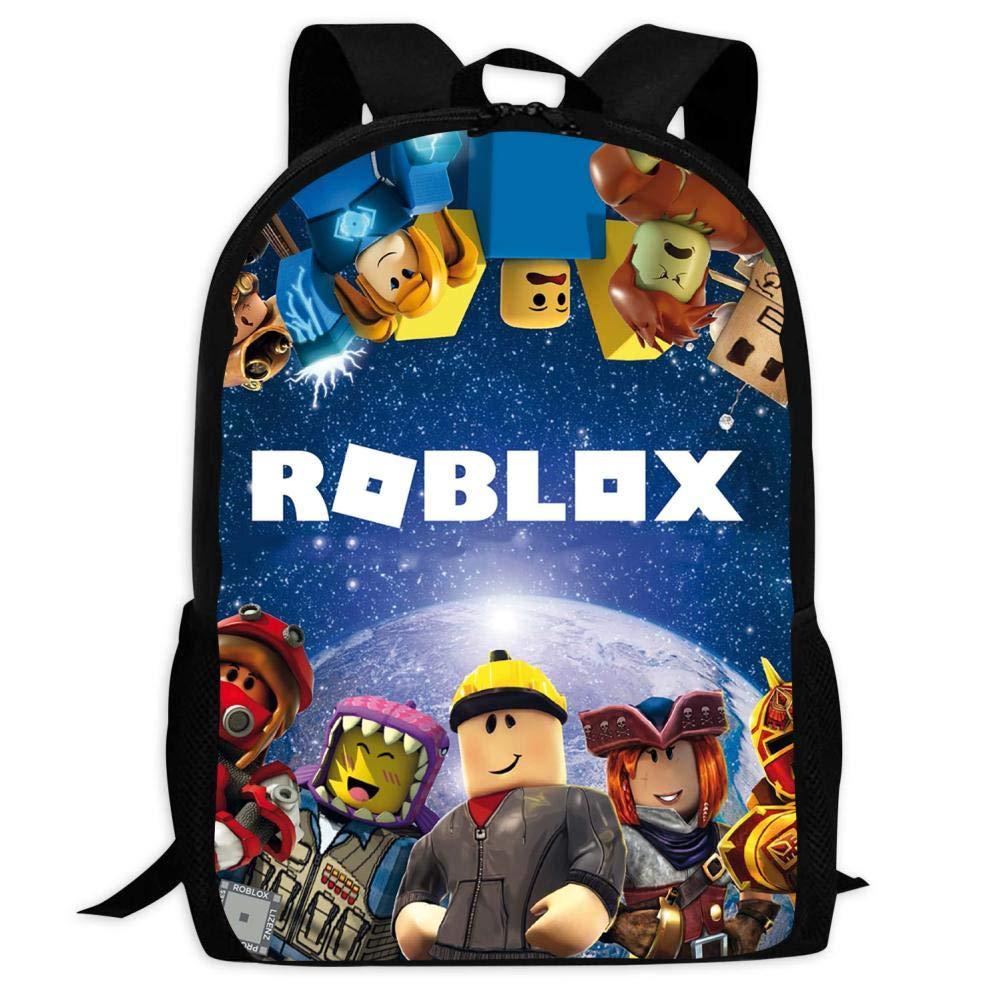 BUZAILIANX-22 Roblox 3D Print Backpacks Children Shoulder Bag Rucksack Back to School by BUZAILIANX-22