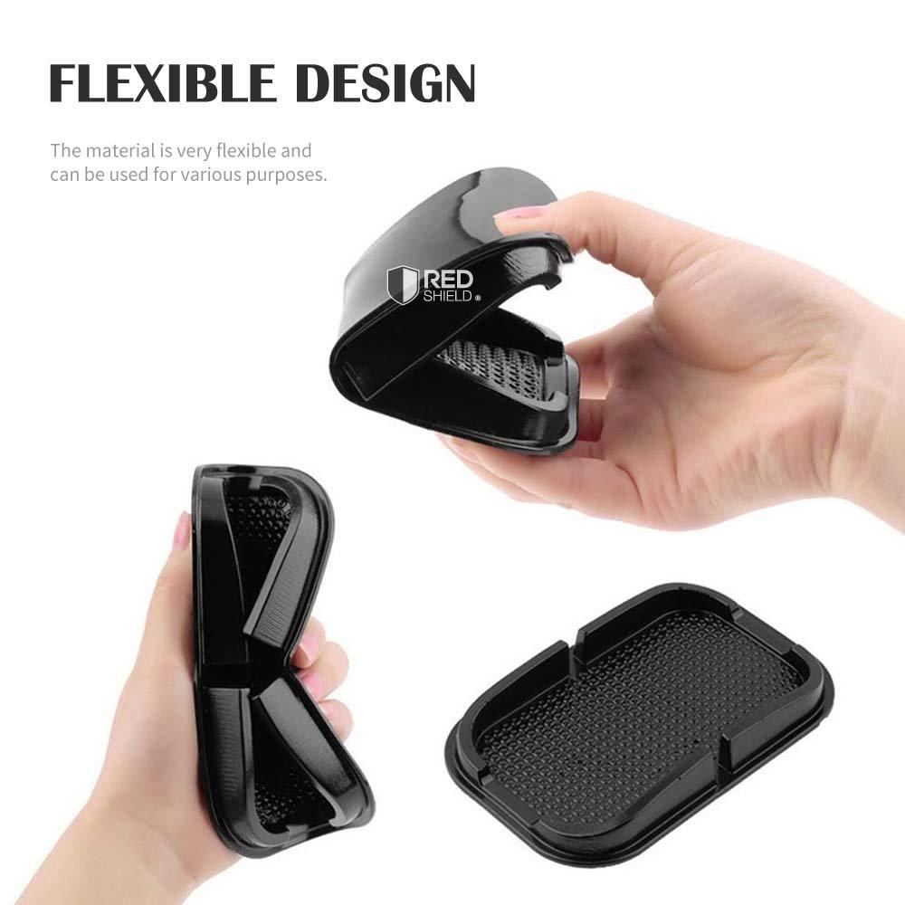 Car Dashboard Holder Black Cradle Dock Sticky Pad Mat