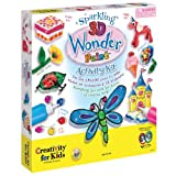 Creativity for Kids 1941007 Sparkling 3D Wonder Paint Activity Kit