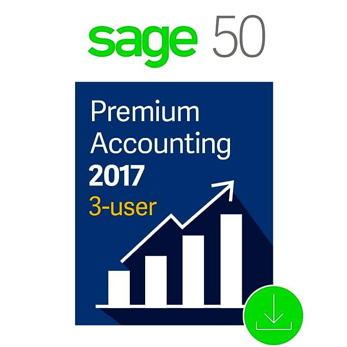 Amazon.com: Sage 50 Premium Accounting 2017, 3-User ...