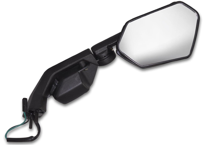 Yana Shiki USA MIR331BR Black OEM Style Racing Right Side Mirror with Turn Signal