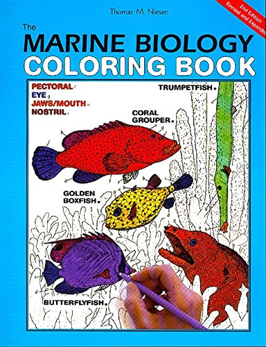 The Marine Biology Coloring Book Second Edition Thomas M Niesen 9780062737182 Amazon Books