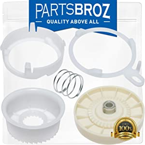 W10721967 Splutch Cam Kit for Whirlpool Washing Machines by PartsBroz - Replaces AP5951296, W10006356, W10315818, PS10057144, W10006352, W10006353, W10006354, W10006382, W10326374, W10536113
