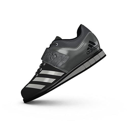 Adidas PerformancePOWERLIFT.3 - Zapatillas Fitness e Indoor - Core Black/Silver Metallic/Iron Metallic: Amazon.es: Zapatos y complementos