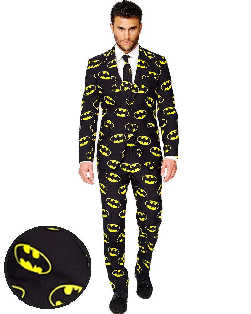 Opposuits Batman Anzug SlimFit 3teilig - Gr. 62