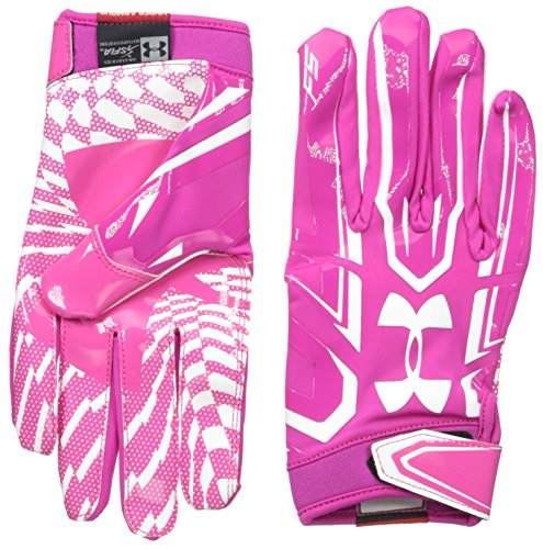 Under Armour F5 American Football Handschuhe - Tropic Pink 654 (Large)