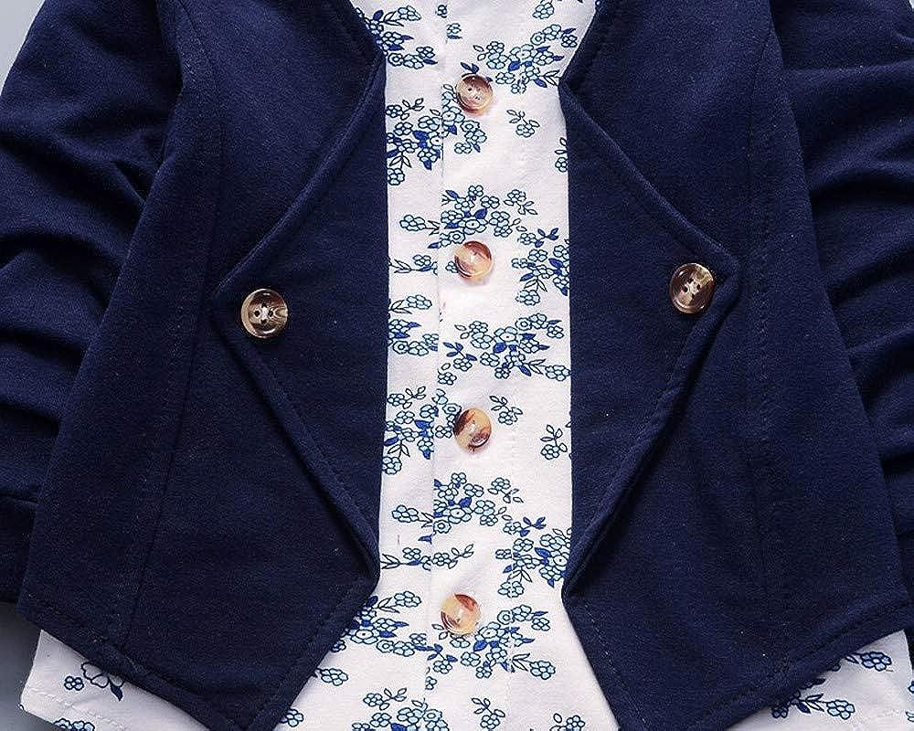 Babybekleidung,Resplend Baby Lange /Ärmel Oberteile Hosen Zweiteiliger Anzug Bowknot Streifen Mit Kapuze Hoodie Bekleidungssets Babyanzug