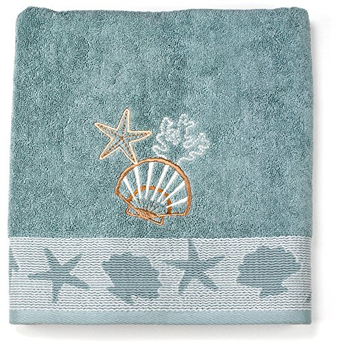 Better Homes and Gardens Coastal Tip Towel (Bath Towel)