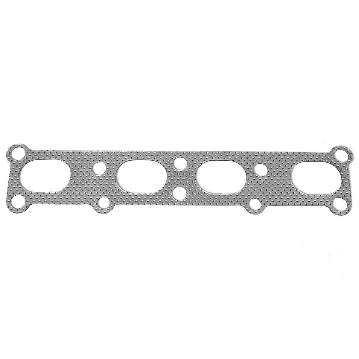 2.0L DOHC 5 Aluminum Exhaust Manifold Header Gasket Set for 01-03 Mazda Protege