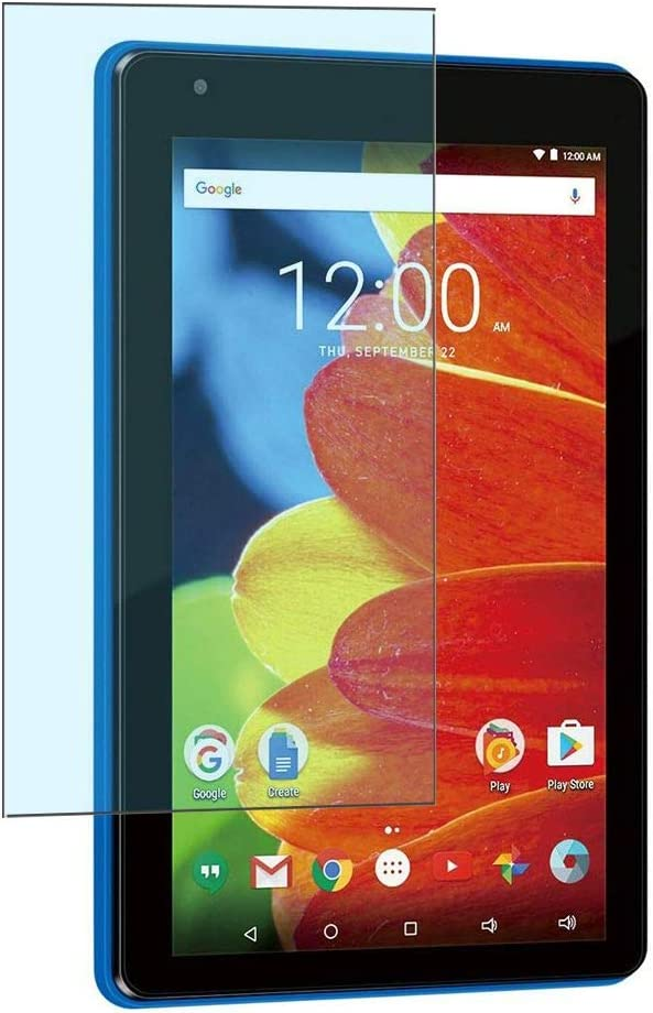 Puccy 2 Pack Anti Blue Light Screen Protector Film, Compatible with RCA Voyager Pro 7