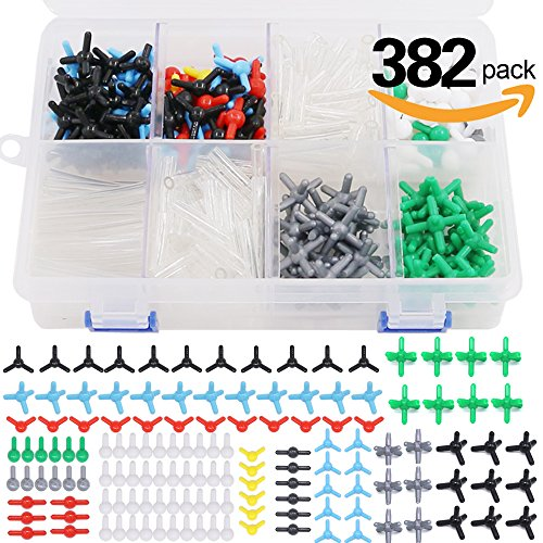Swpeet 382 Pcs Molecular Model Kit – Molecular Teacher Student Set for Organic & Inorganic Chemistry – 202 Atoms & 180 Links