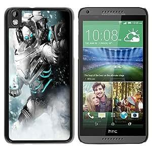 batman arkham city mr freeze Black Hard Plastic HTC Desire 816 Phone Cover Case