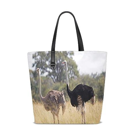 Amazon.com: Friends Of Hwange Trust Tote Bag Purse Handbag ...