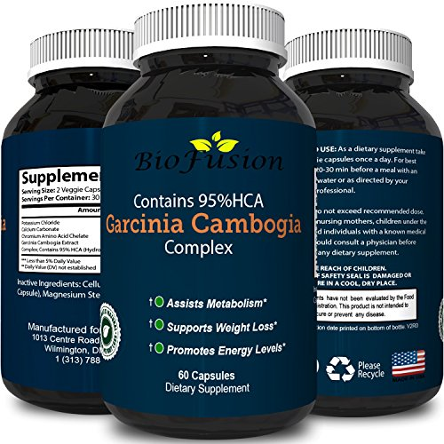 Potent Garcinia Cambogia Extract HCA For Men and Women A Pure Weight Loss Pills to Enhance Your Focus, Workout and Use For Appetite Control with Burn Belly Fat Natural Garcinia Cambogia