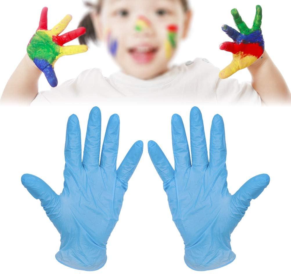 elastici in lattice Calayu 20 guanti monouso per bambini per cuocere dipinti ristoranti usa e getta asili mangiare per sanitari