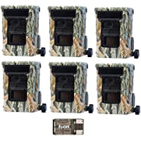 6x Browning DEFENDER 940 Wifi and Bluetooth Trail Game Cameras (20MP) | BTC10D | with Focus USB Card Reader