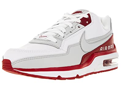 nike air max 90 mens white\/grey-varsity redbox