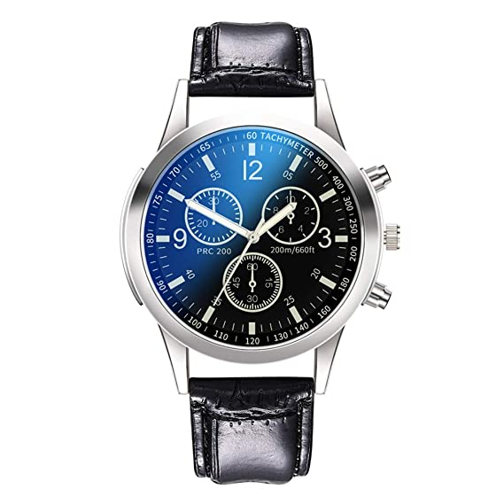 Amazon.com : XBKPLO Men Watches Quality Luxury Temperament Fine Quartz Analog Wrist Business Watch Leather Strap Jewelry Gift : Pet Supplies