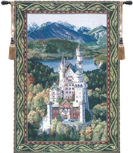 Neuschwanstein Castle Fine Art Tapestry