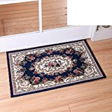 Continental door mats/Door mats/Bedroom bathroom water-absorbing mat/Entrance mat-F 70x140cm(28x55inch)