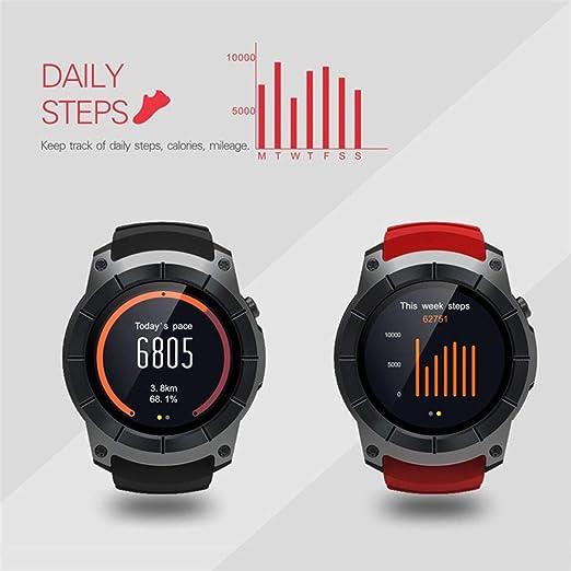 S958 Bluetooth Smartwatch GPS podómetro Deportivo MTK2503 Monitor ...