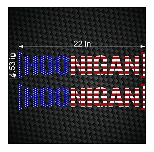 Galleon 2 22 Hoonigan Flag Ken Block Hater Car Window Decals Jdm