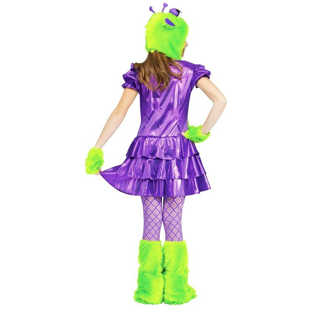 Amazoncom Galaxy Girl Alien Kids Costume Large 12 14 Toys Games