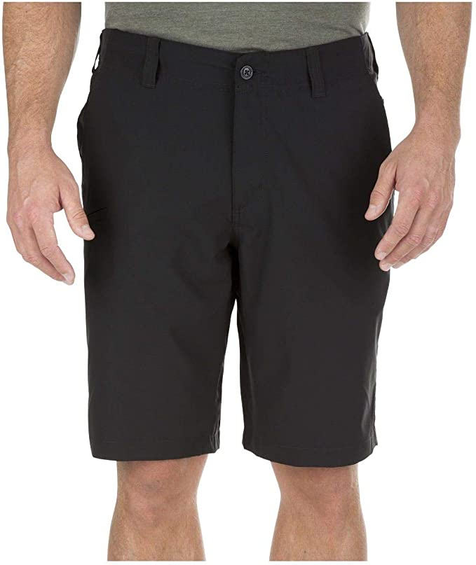 5.11 Tactical Men's Base Shorts, Polyester Mechanical Stretch Fabric, Moisture Wicking, Style 73337