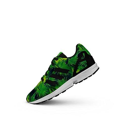 Frauen Amazon K Adidas Zx Core Schuhe Flux Schwarz j54A3RL