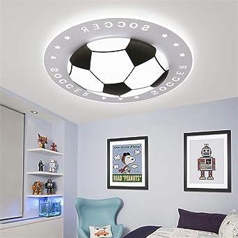 Megcose Deckenleuchte Kinderzimmer Jungen Fußball LED Acryl ...