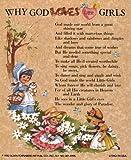 Why God Loves Little Girls - Poster by J. B. Grant (4 x 5)