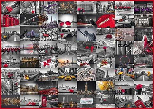 Schmidt Spiele 58296 - Stadtbilder, Puzzle, 1500 Teile