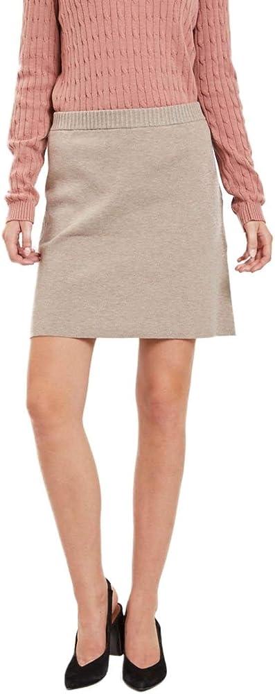 Vila Falda Mujer Violivena Knit Skirt S: Amazon.es: Ropa y accesorios