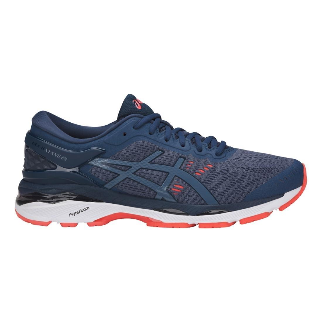 the latest 6a308 73427 ASICS Mens Gel-Kayano 24 Running Shoe, Smoke Blue/Smoke Blue/Dark Blue,  Size 15