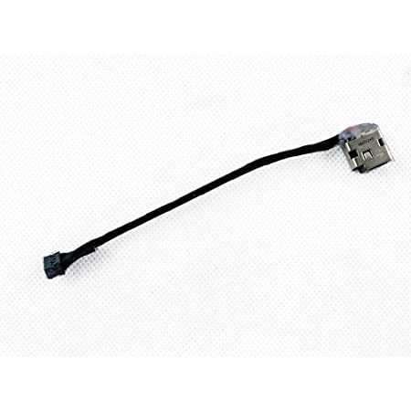 61Ckoh0%2B1TL._SY450_ amazon com bestcompu �new dc power jack harness in cable plug  at bayanpartner.co