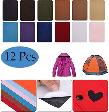 Down Jackets Suit Self-adhesive Hole Repair Patches Mend Applique Stickers