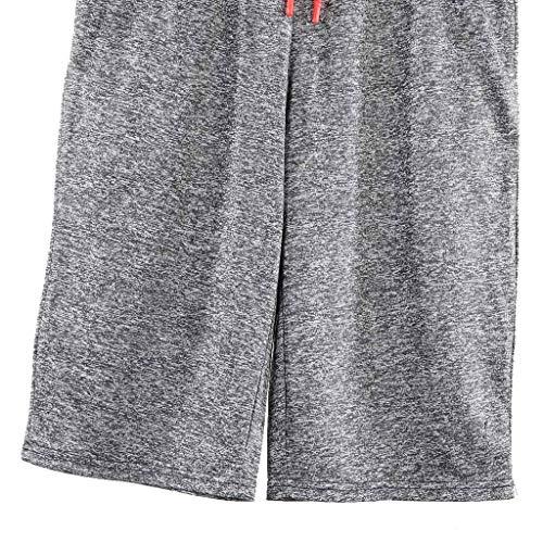 Men Sport Pants,Jchen Mens Casual Drawstring Sport Loose Jogging Pants Solid Color Shorts Calf-Length Sweatpants (XL, Gray) by Jchen Men Pants (Image #5)